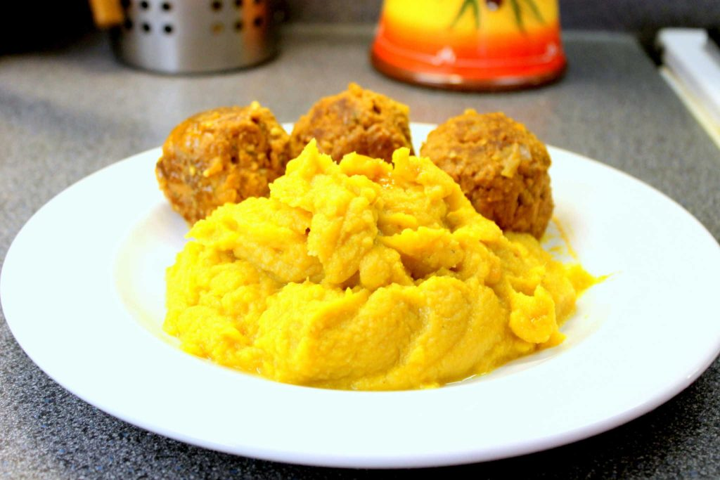 healthy cauliflower mash