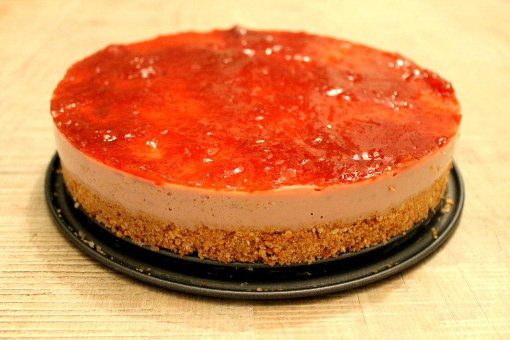 vegan no bake cheesecake